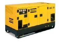 Дизельные компрессоры ATLAS COPCO передвижные и стационарные (на салазках)